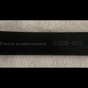 Harley-Davidson Accessories - Women's size L black Harley-Davidson belt